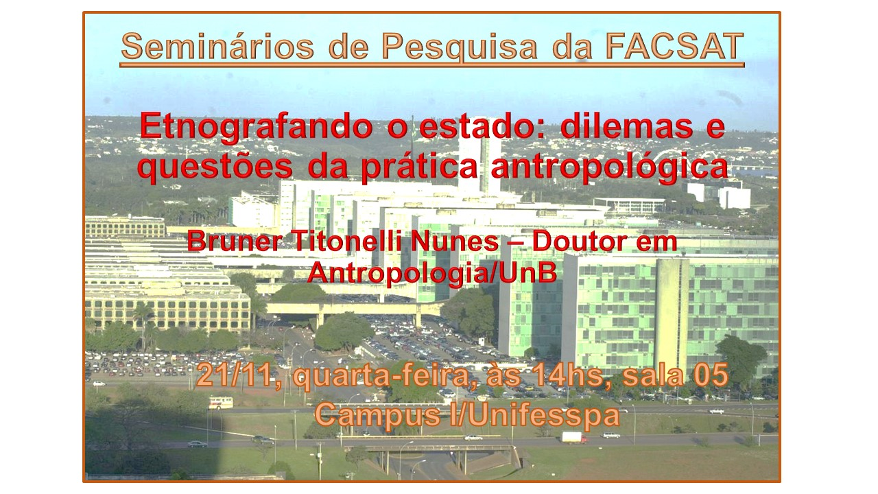 Seminrio Bruner 2 Etnografia do Estado